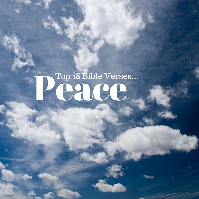 Bible Quotes About Peace Fair Top 18 Bible Versespeace  Everyday Servant