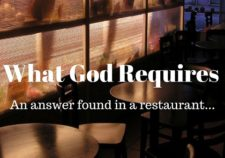 What God requires