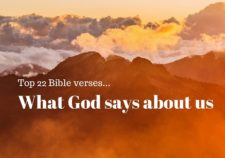 Top 22 Bible verses-What God says about us