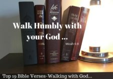 Top 19 Bible verses-Walking with God