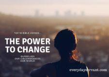 Top 16 Bible verses-The Power to change
