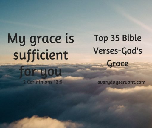 Top 35 Bible Verses-Gods Grace