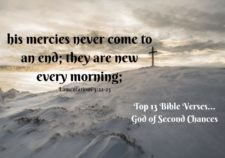 Top 13 Bible verses-God of second chances